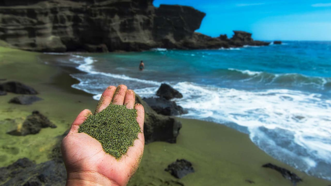 Ever been to a green sand beach? The newest geohack to fight climate change