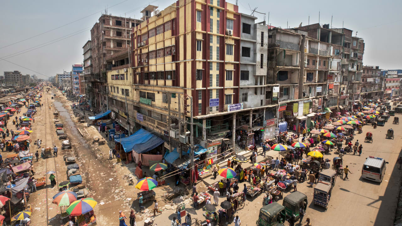A billion people live in the slums of the world's megacities—and they're being missed by coronavirus plans