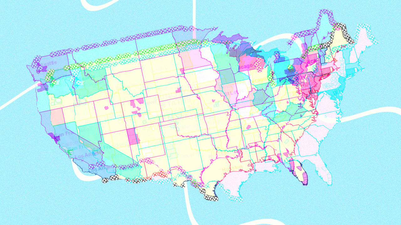 Image of: Us Travel Restrictions Map Helps You Drive During Covid 19