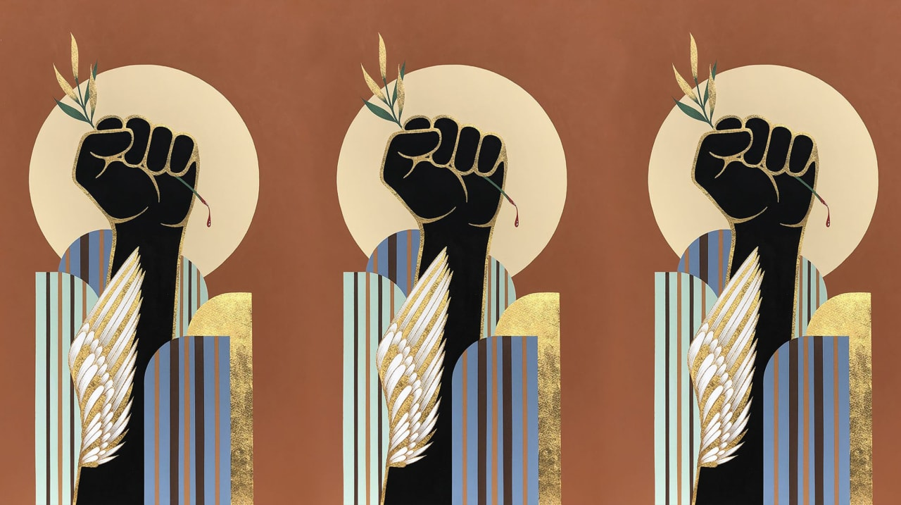 These 10 artists are creating stunning images to protest racial injustice