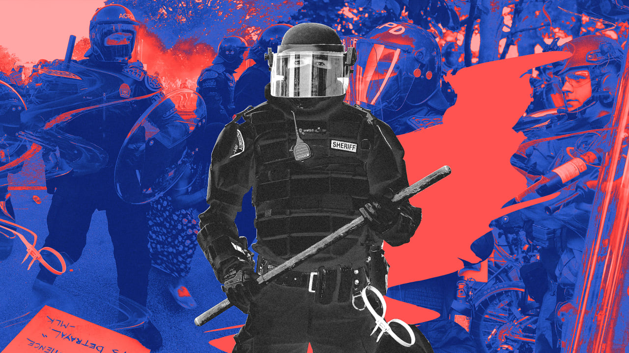 The twisted psychology of militarized police uniforms