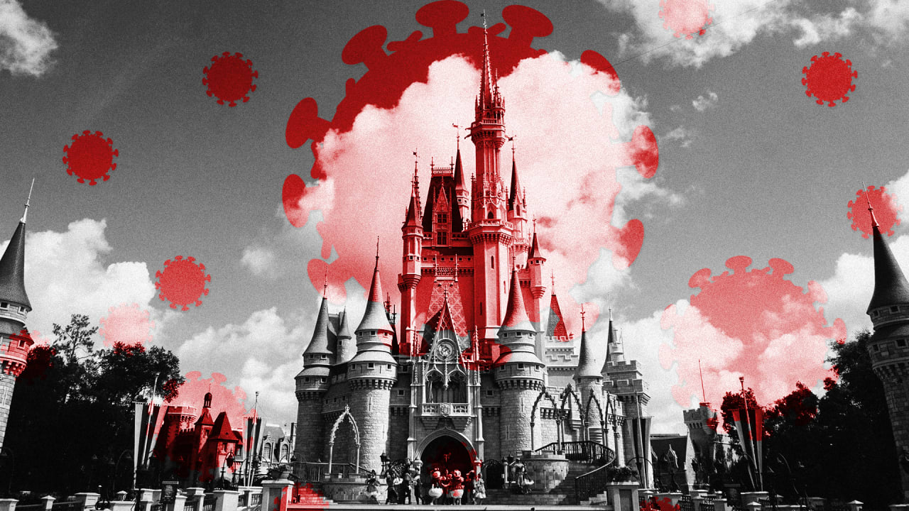 It's a COVID world after all, as Disney World reopening gets off to a shaky start