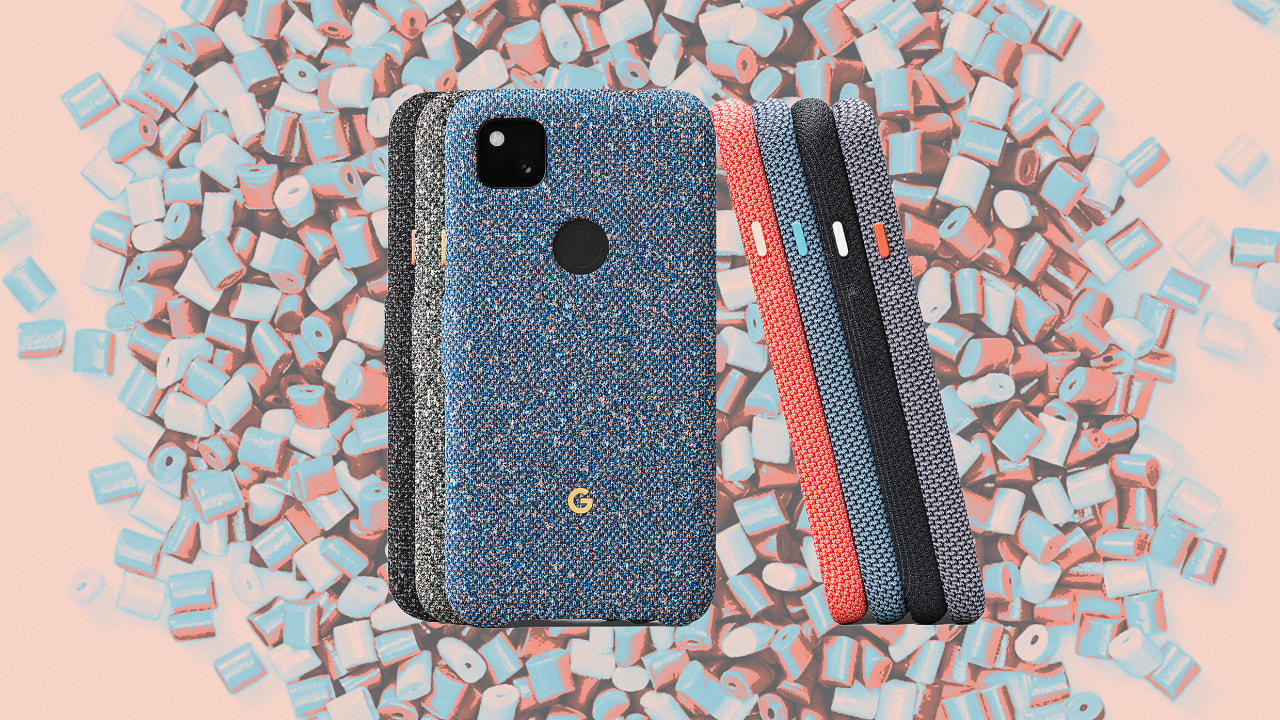 Google's new phone case is beautiful—and it's made out of water bottles