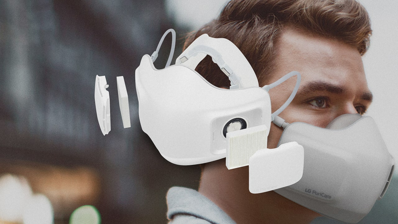 Most masks feel awful. LG's breathable mask might finally change that