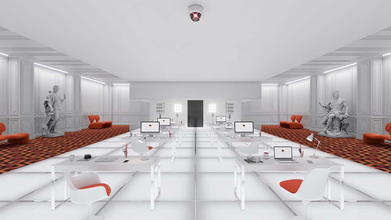 Here's how amazing your office could be if designed by your favorite filmmakers