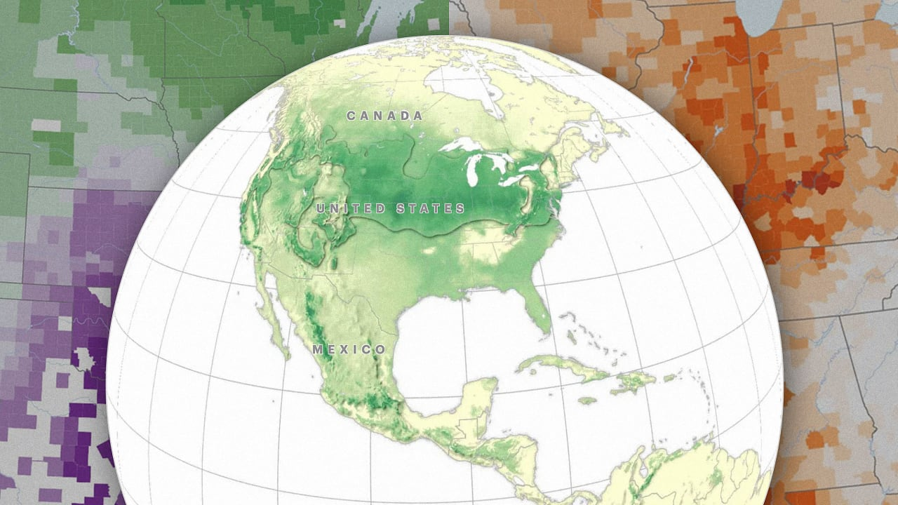 These maps show you where to move once climate change make parts of the U.S. unlivable