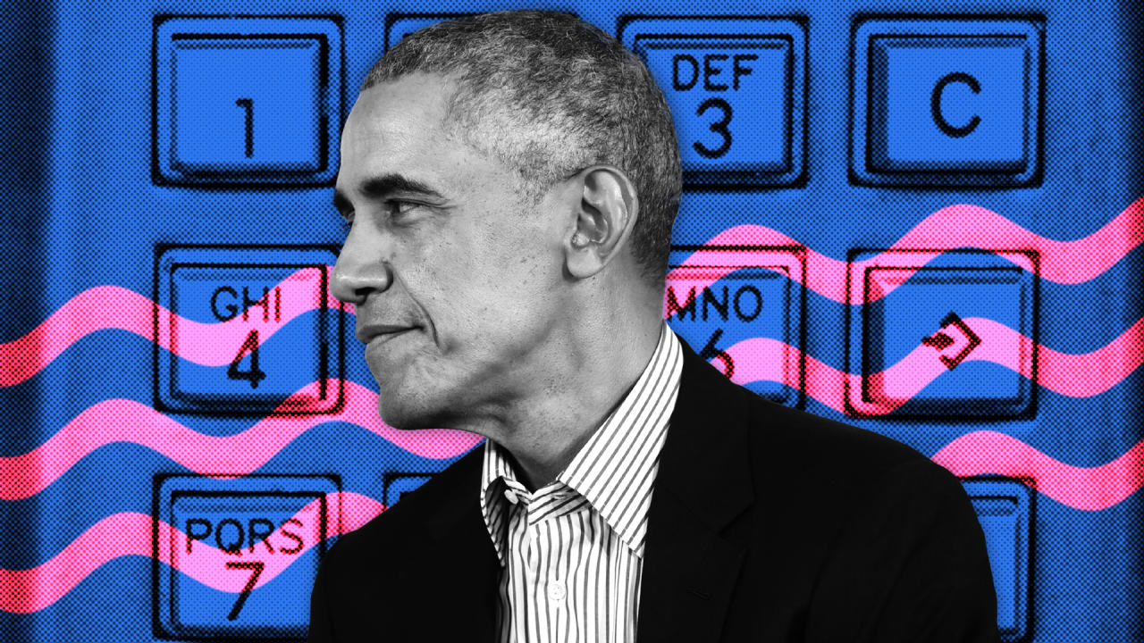 Why President Barack Obama is giving out his phone number today