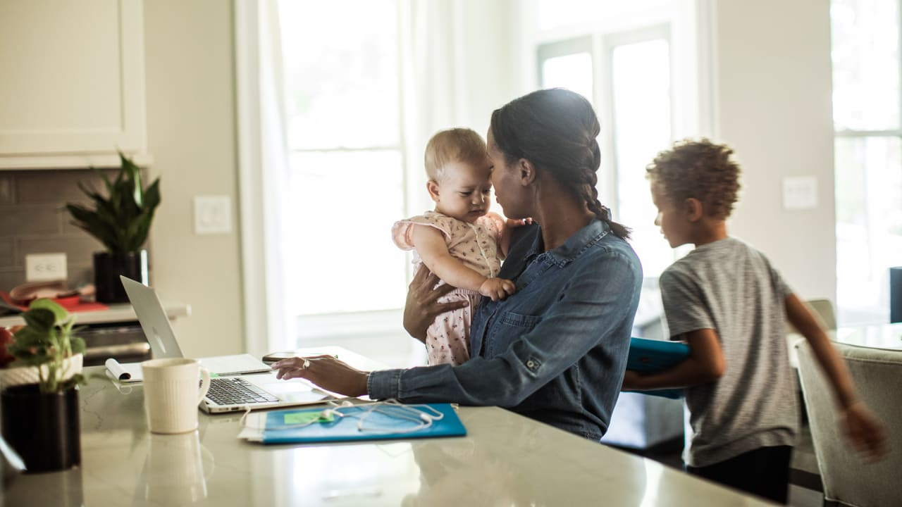 Photo of I'm a working mom, and this is the career hack that's helping me find balance