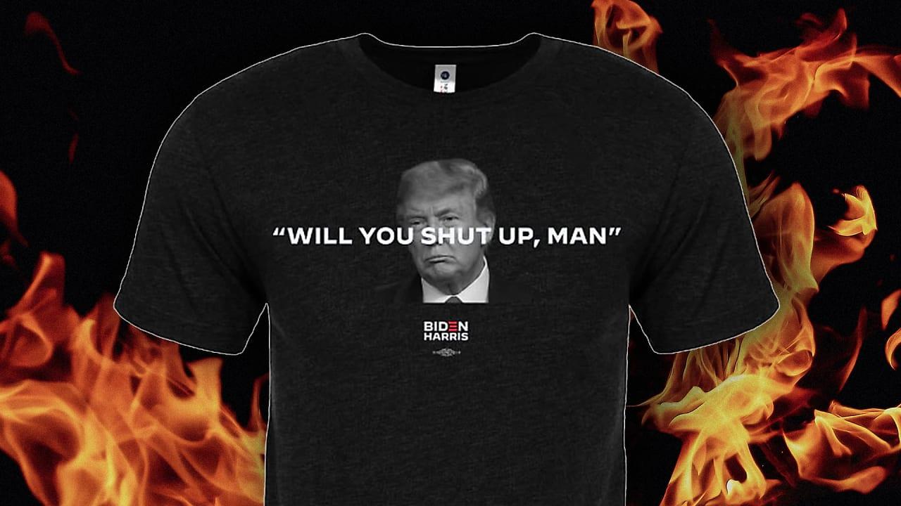 Joe Biden Democrat Biden Election Shirt Will You Shut Up Man Shirt