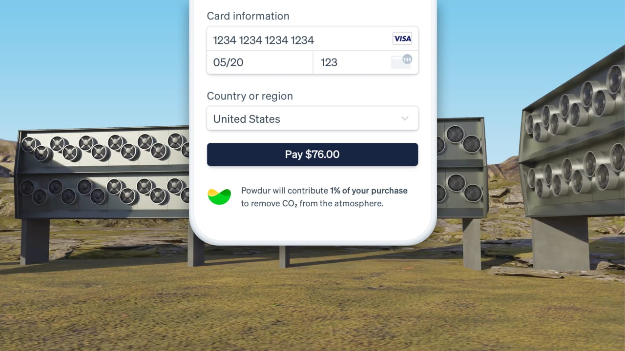 Stripe now lets businesses put money directly into carbon removal