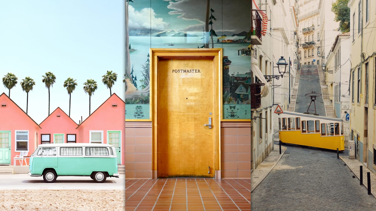 See what Wes Anderson sets would look like in real life