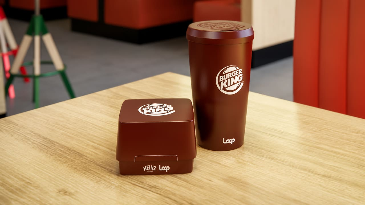 Burger King's new Whopper packaging isn't greasy cardboard, it's reusable