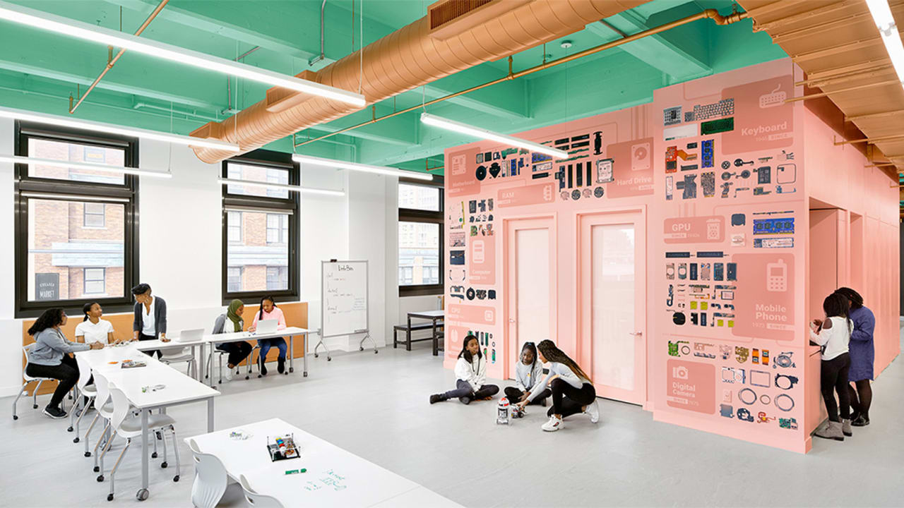 As office buildings empty out, here's one creative use for all of that space