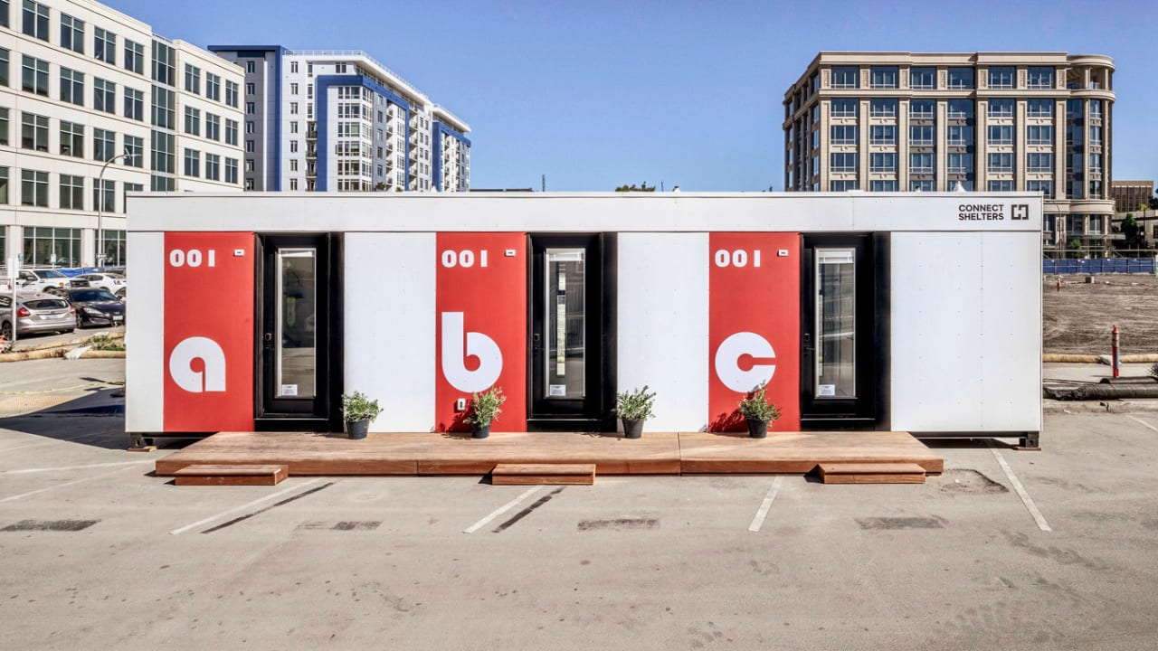 These modular rooms let cities quickly and cheaply build housing for the homeless