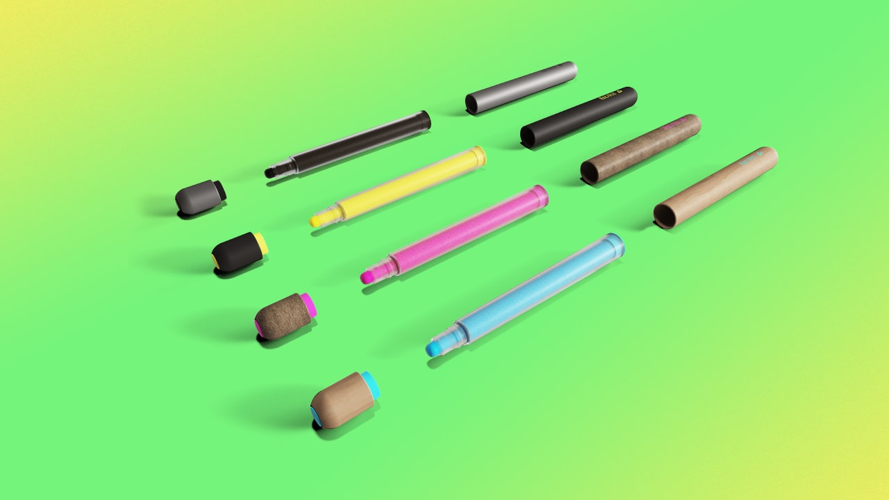 This pen is so eco-friendly, you can eat the ink