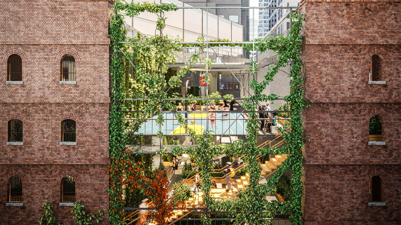 A brilliant plan to turn parking garages into rooftop gardens