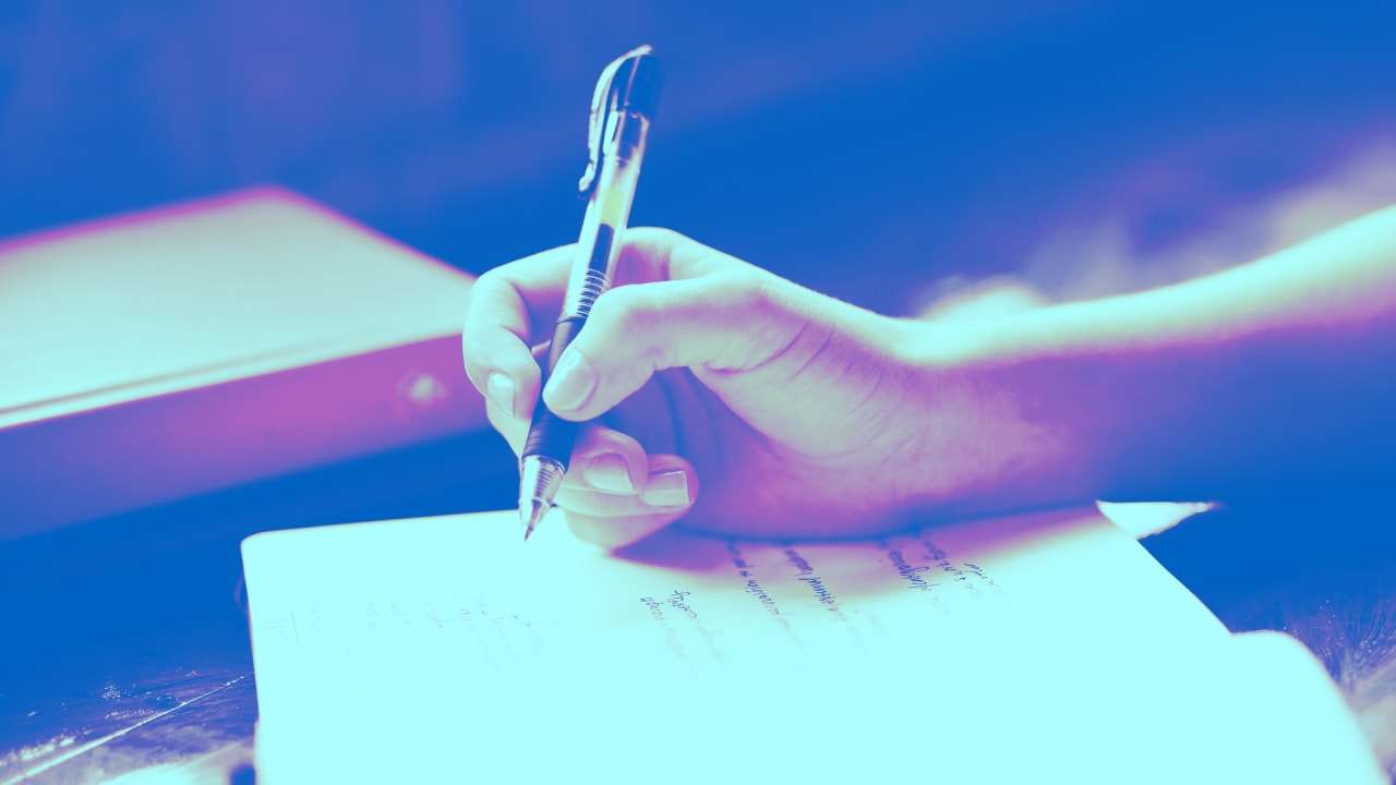 The psychological benefits of writing by hand