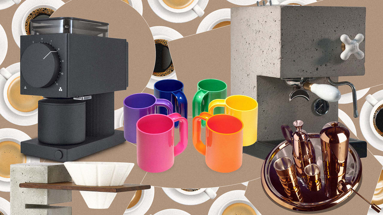Brutalism meets bling: 8 stunning coffee accessories for design snobs