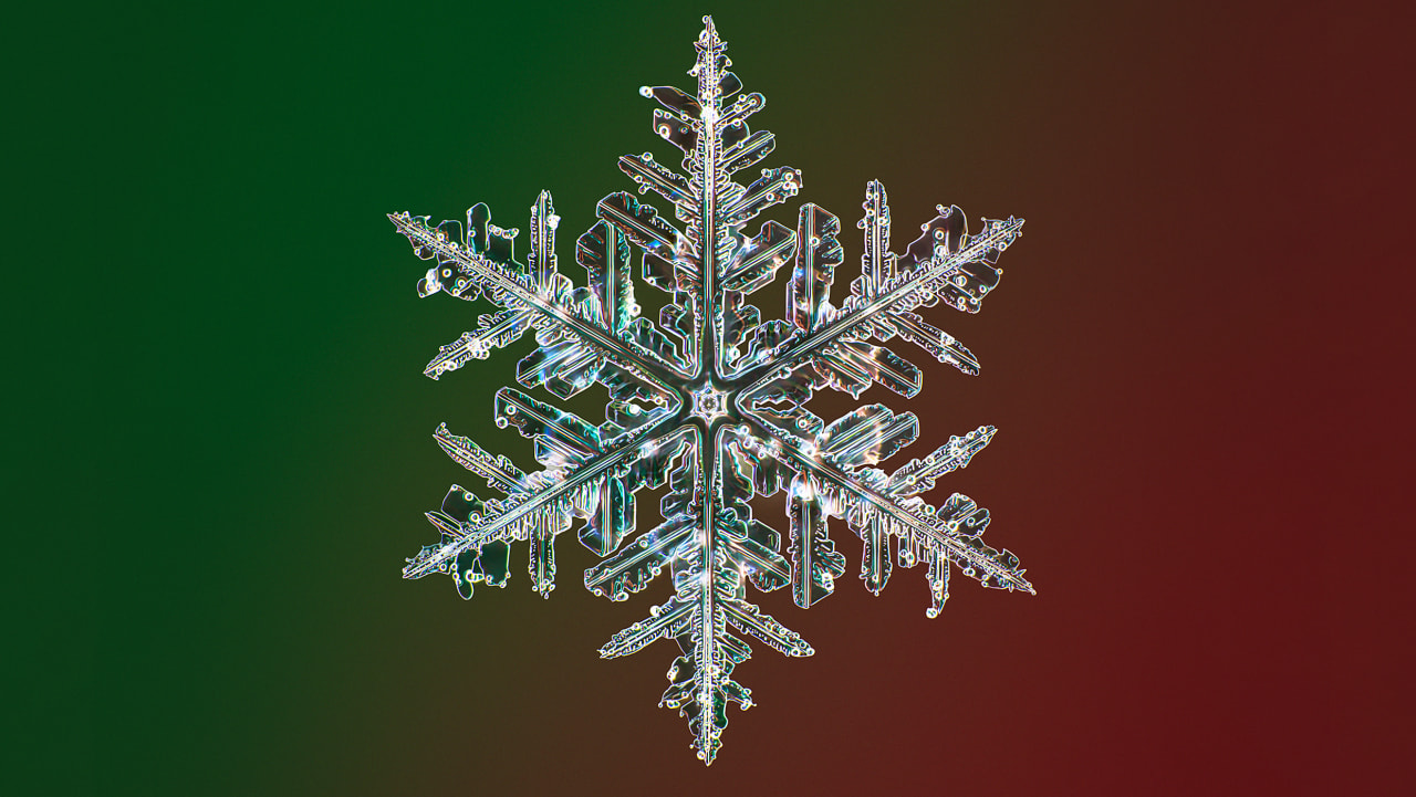 These stunning images of snowflakes will make you see winter in a whole new light