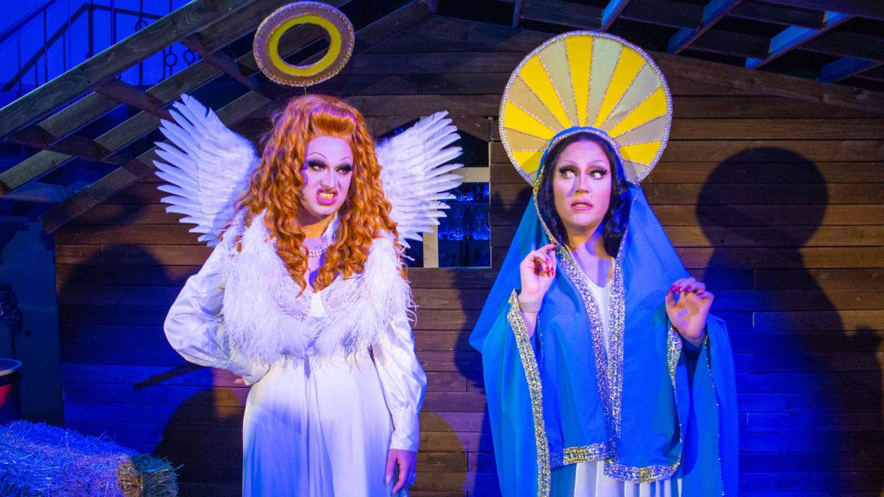 How drag stars BenDeLaCreme and Jinkx Monsoon reinvented the holiday show in 2020