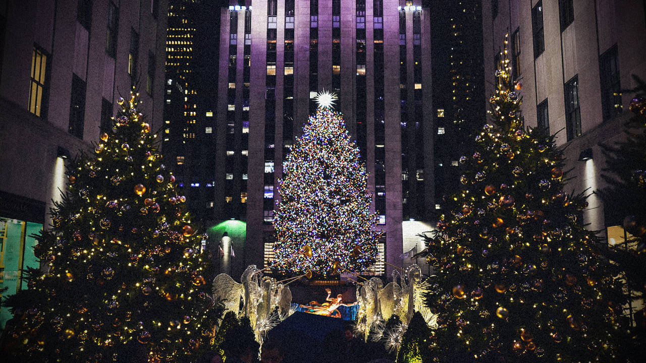Watch 2021 New York Christmas Tree Lighting 2021 Tree Lighting Live Stream Rockefeller Center Watch On Nbc