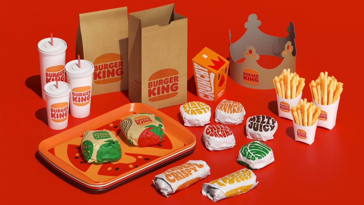 Burger King S Rebrand Throws It Back To The 70s