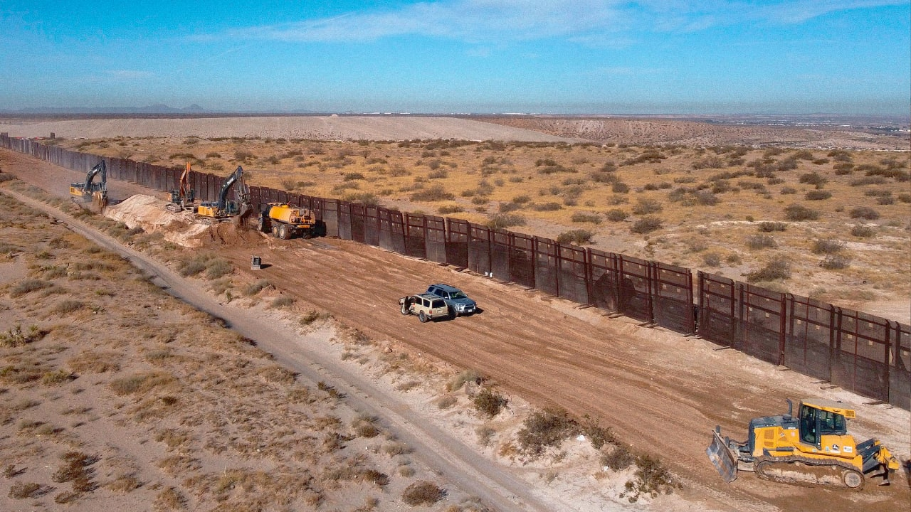The border wall is destroying ecosystems. Biden can fix it