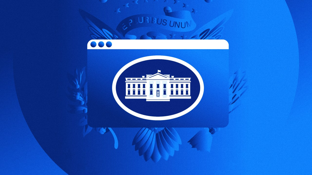 Even the White House logo got a makeover. See what changed