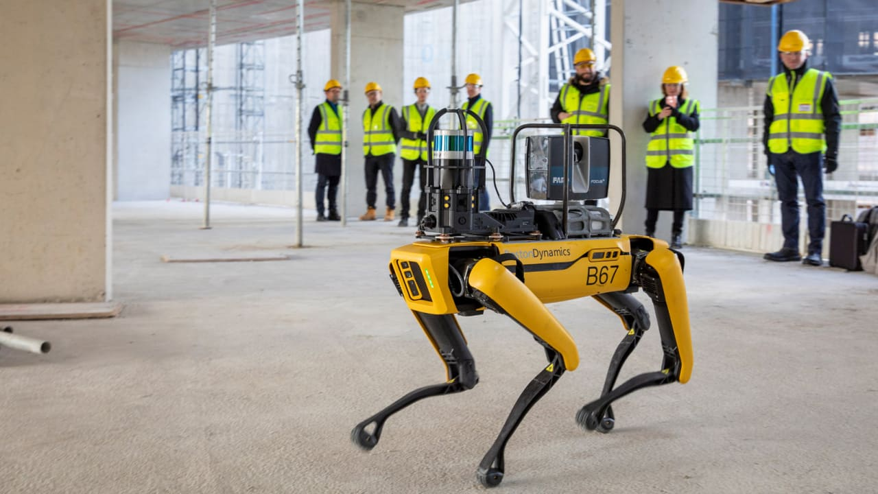 This robot dog is changing the way buildings are designed, constructed, and used