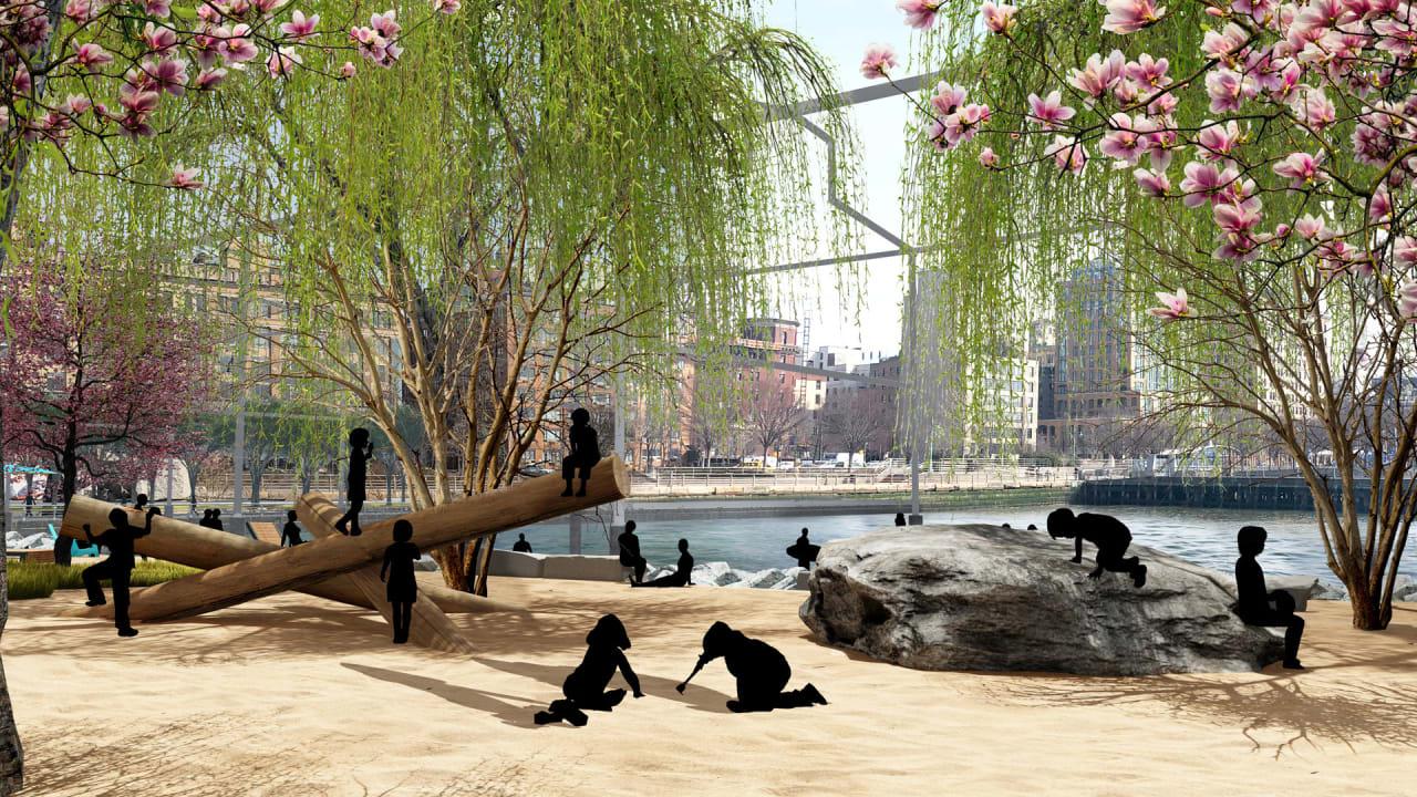 Inside the $70 million plan to build a beach in Manhattan