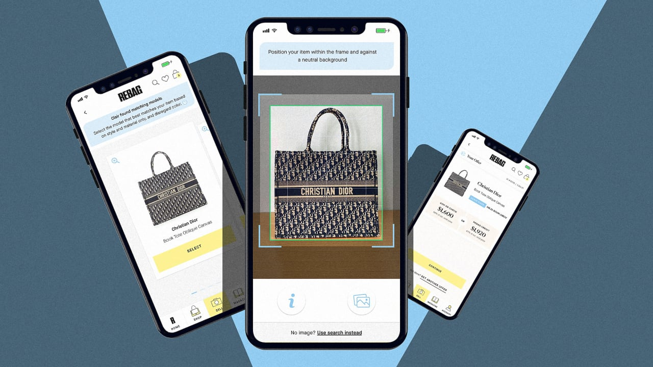 Just how valuable is that luxury bag? This app can tell you instantly