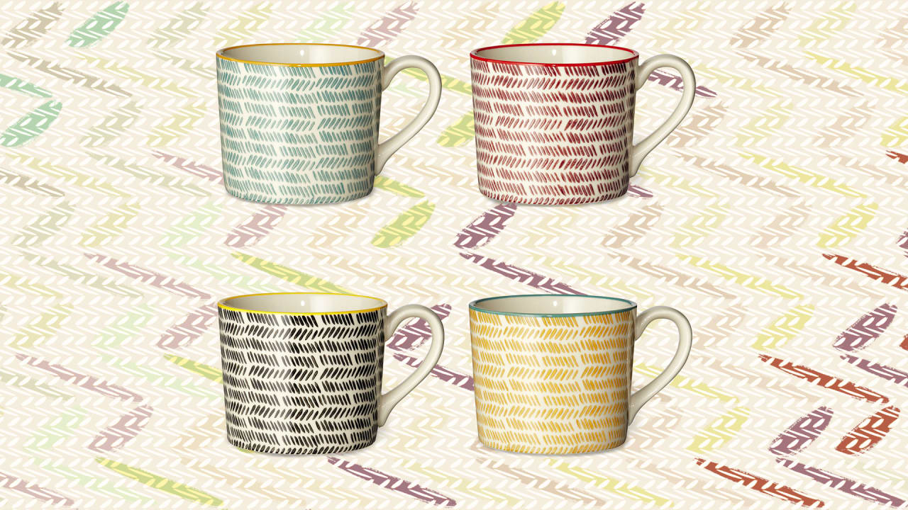 Looking for a pick-me-up? Treat yourself to one of these designer coffee mugs, and sip in style