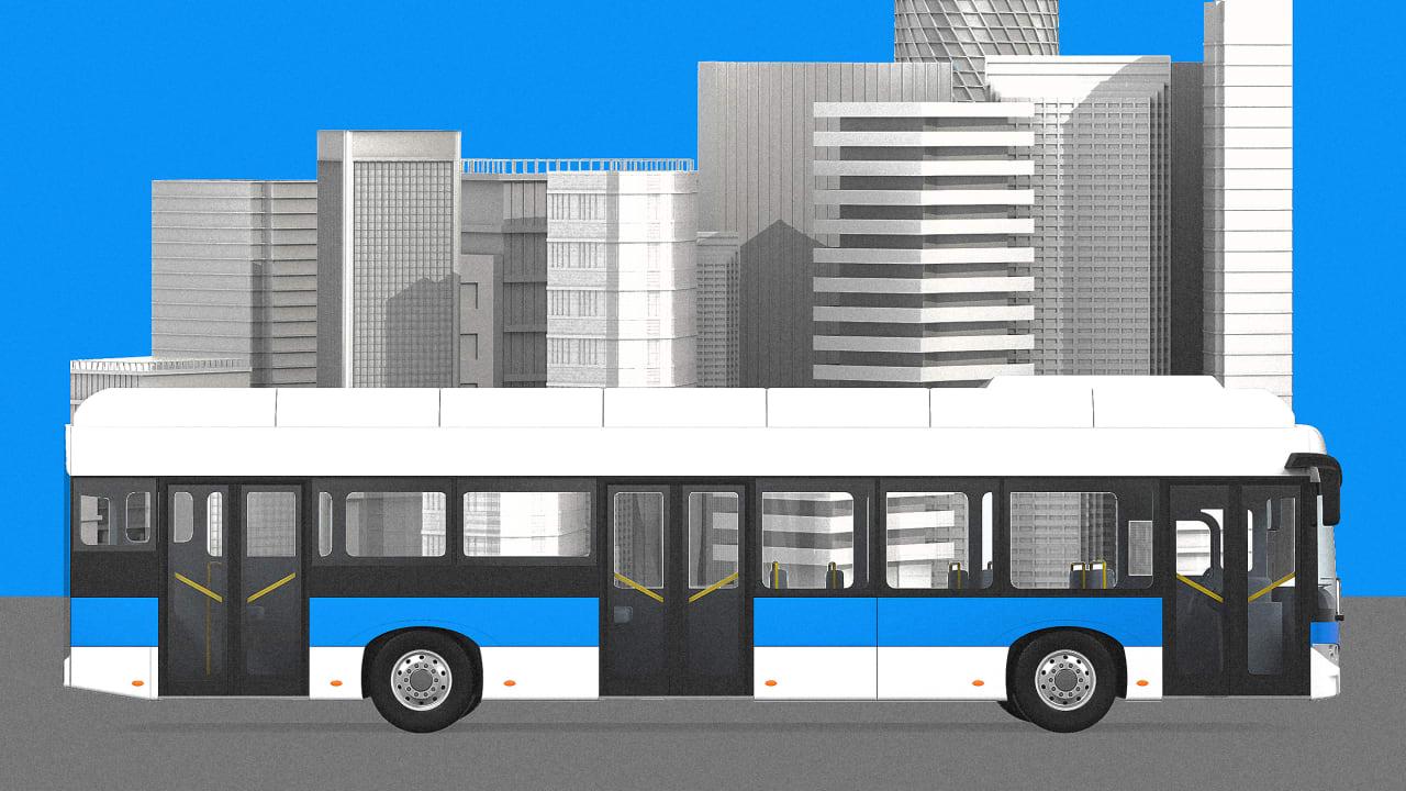 Facing a $40 billion shortfall, U.S. transit agencies jump into real estate