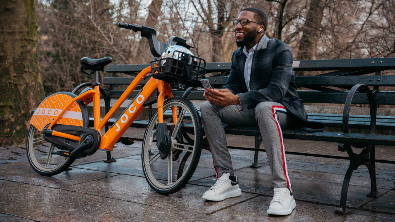 Instead of clogging sidewalks, this bike share company will dock on private property