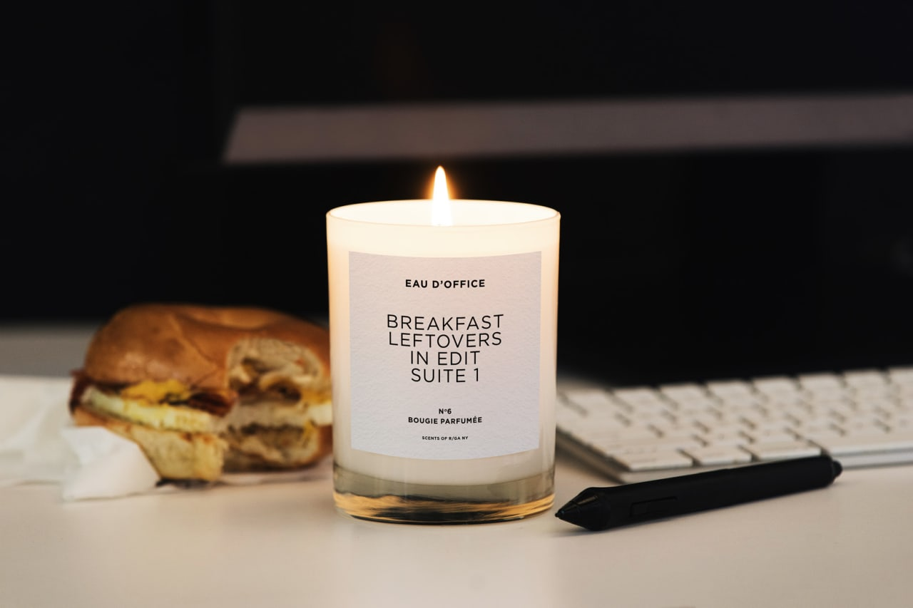 Miss the smell of the office printer? These candles recreate our prepandemic life