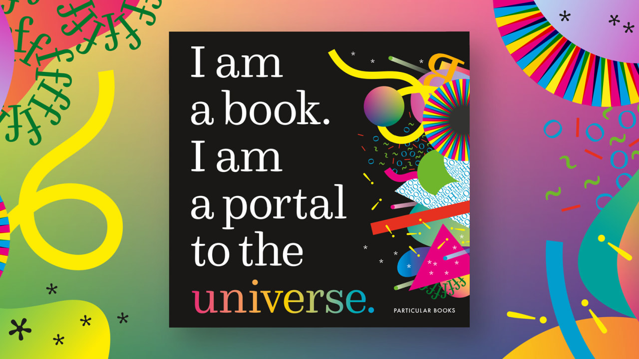 This clever children's book uses interactive data visualizations to explain the universe