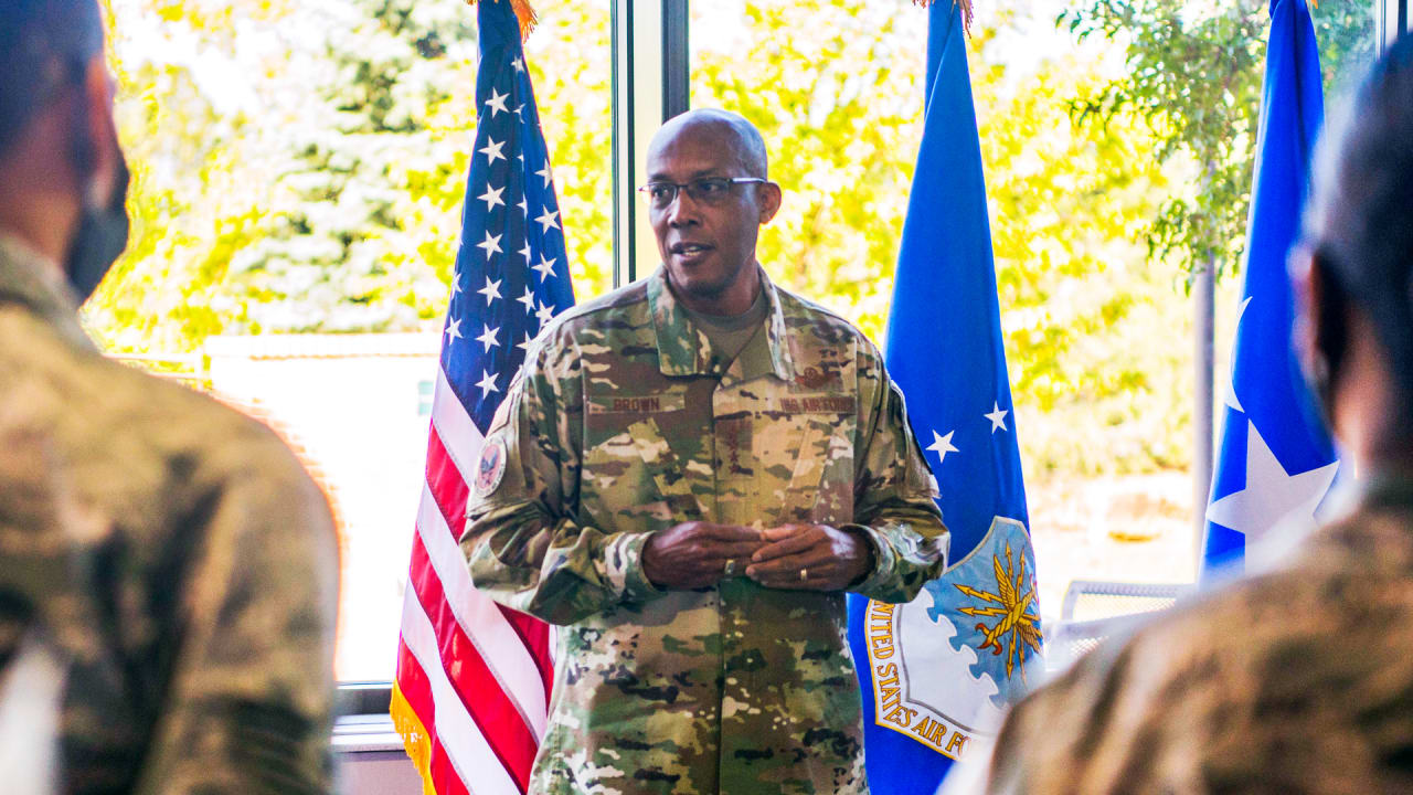 Gen. Charles Q. Brown Jr., America's first Black Air Force chief, on race, tech, and the trouble with AI