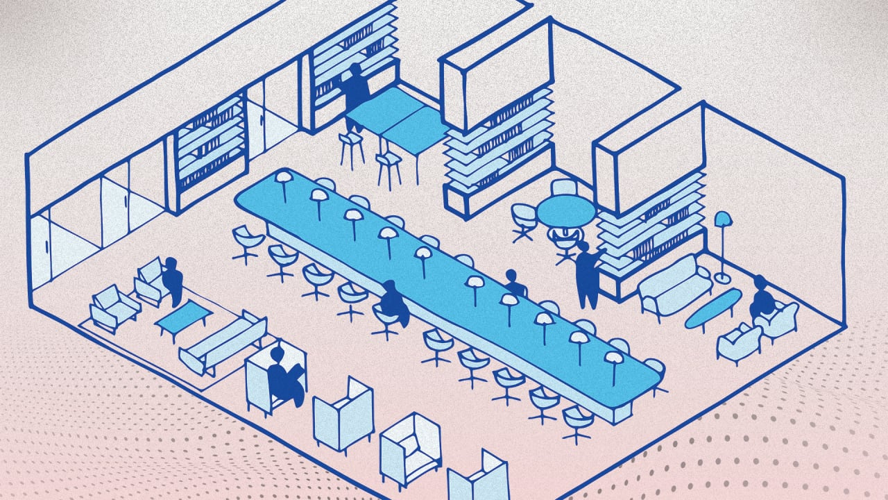 These architects popularized the open office. Now they say 'the open office is dead'