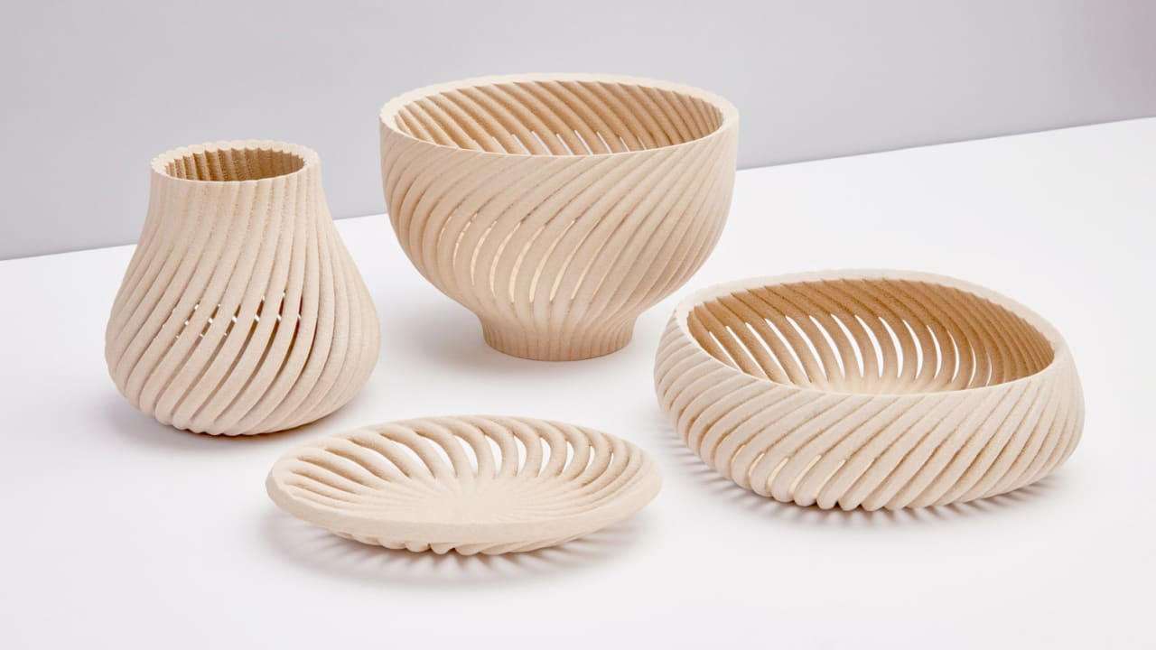 07 90632358 this 3d printed wood is made from waste.