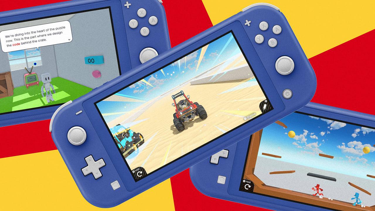 Nintendo's Game Builder Garage teaches your kid to code