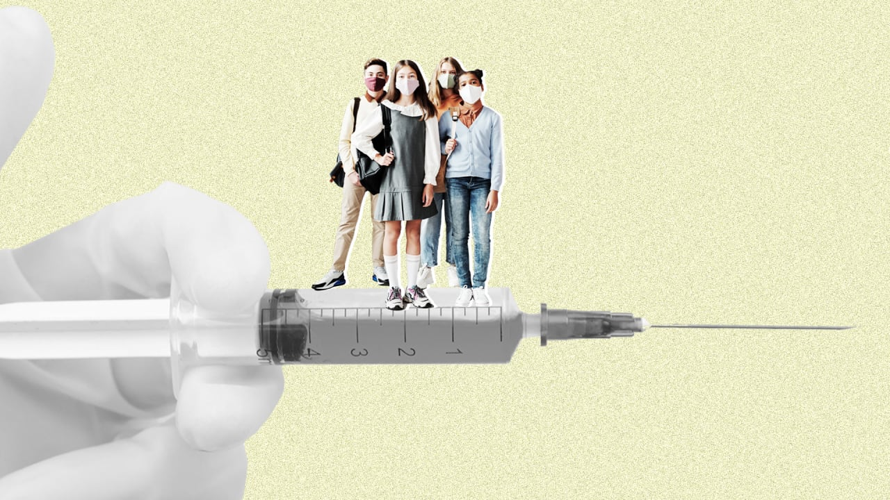 Only 3 in 10 parents want to vaccinate their teens against COVID-19