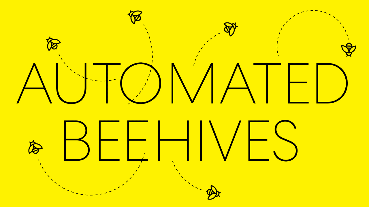 This automated superhive could help save the global bee population