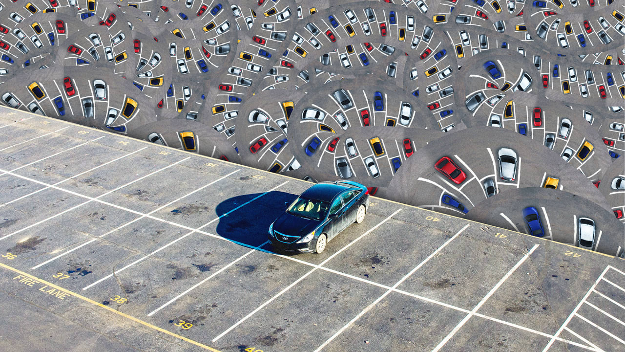 America has eight parking spaces for every car. Here's how cities are rethinking that land