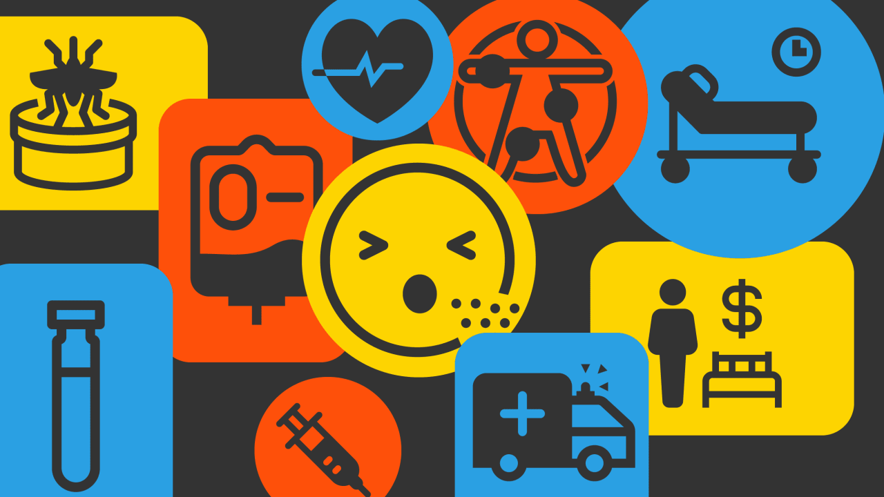These icons create a universal language for healthcare  from blood type to sex work