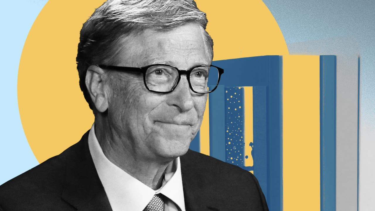 Bill Gates shares the 5 books he's reading this summer