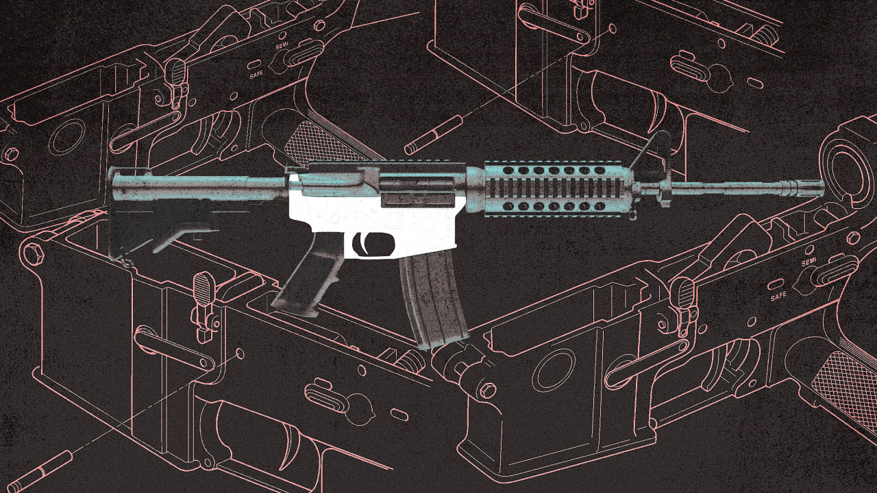 What are 'ghost guns'?
