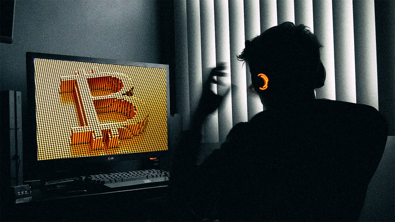 Hacker's Hacking Gamer's PC for Crypto Mining with Malware