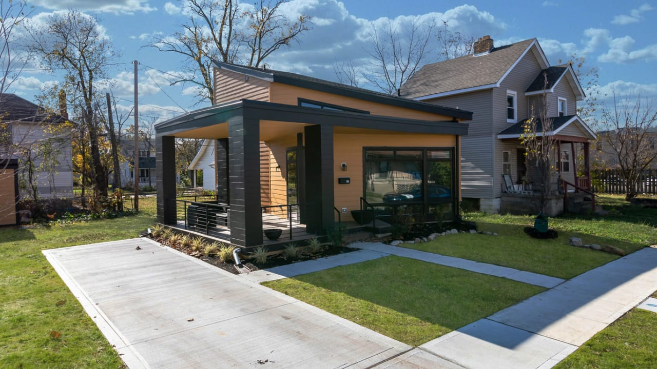 This architecture firm is giving away a house everywhere it works