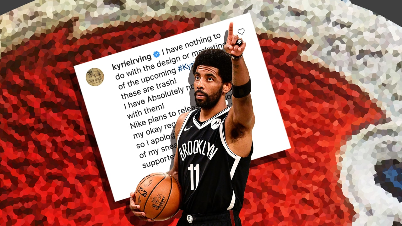 'These are trash!' Is Kyrie Irving's rant about his Nike shoes the next step of athlete empowerment?