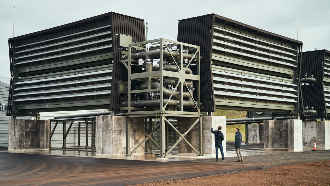 The first commercial carbon removal plant just opened in Iceland